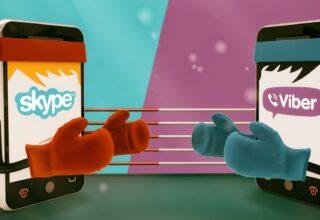 Skype ve Viber Karşılaştırması! Skype VS Viber!