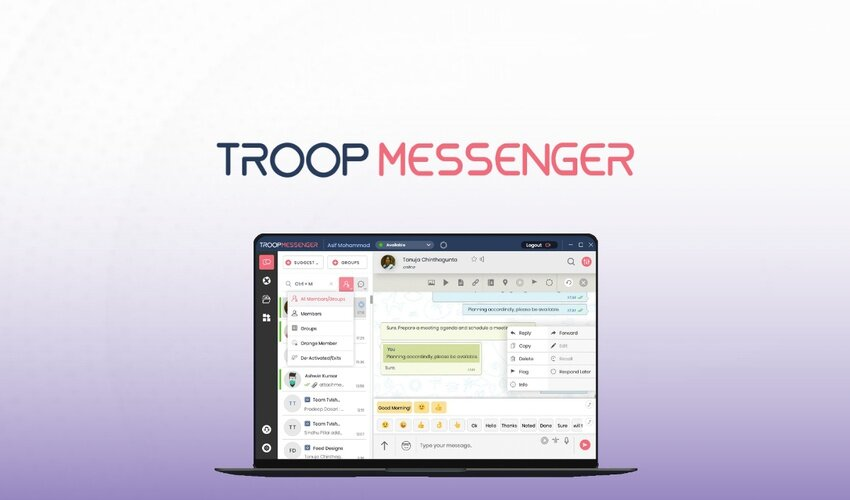 troop messenger incelemesi