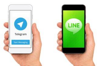 Line ve Telegram Karşılaştırması! Line VS Telegram!
