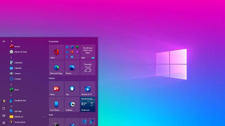windows 10 başlat menüsü - lorentlabs - lorent research lab